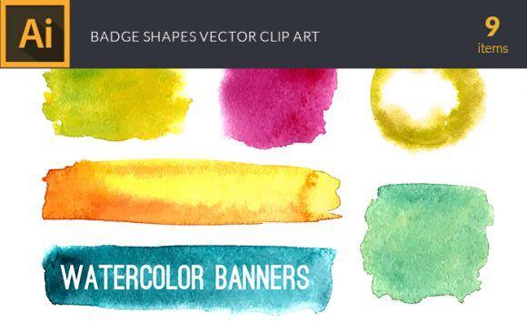 Watercolor Berries Vector Clipart Vector packs vector