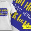 Funny T-Shirt Design 1 T-shirt Designs and Templates vector