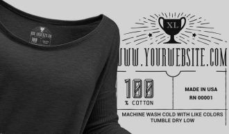 T-shirt Vector Label 10 Typographic Templates vector