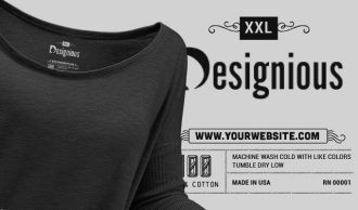 T-shirt Vector Label 7 Typographic Templates vector