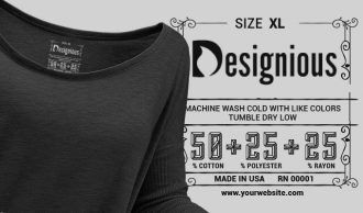 T-shirt Vector Label 8 Typographic Templates vector