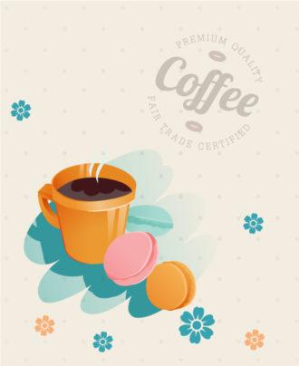Coffee vector illustration Vector Illustrations quality