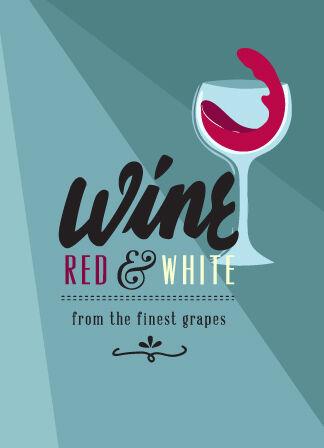 Illustrated flat vector Set Scenes wine