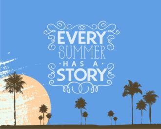 Summer vector illustration Vector Illustrations summer