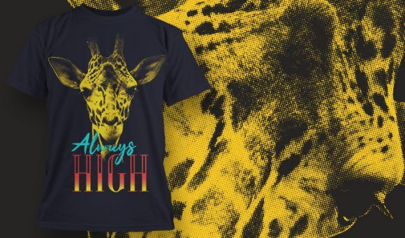 T-shirt design 1625 T-shirt Designs and Templates animal