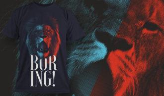 T-shirt design 1627 T-shirt Designs and Templates animal