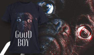 T-shirt design 1630 T-shirt Designs and Templates animal