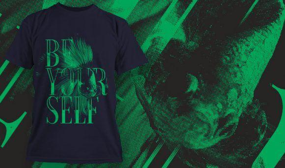 T-shirt design 1631 T-shirt Designs and Templates animal