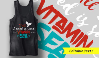Tan Skin, Salty Hair, Flip Flops, Ocean Air – #happiness T-shirt Designs and Templates summer