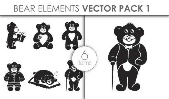 Vector Bears Pack 1for Vinyl Cutter Vector packs vector