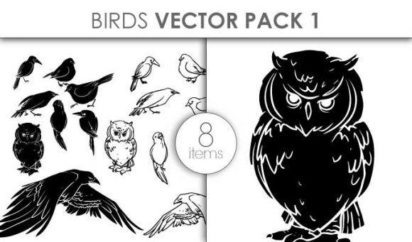 Vector Birds Pack 1 Vector packs vector