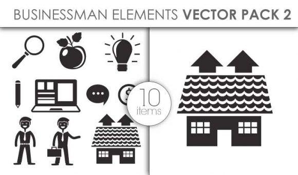 Vector Businessman Pack 2for Vinyl Cutter Vector packs vector