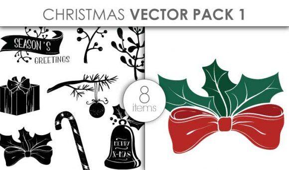 Vector Christmas Pack 1 Vector packs vector