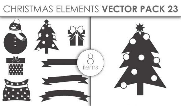 Vector Christmas Pack 23for Vinyl Cutter Vector packs vector