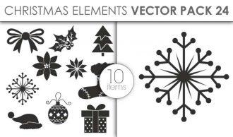 Vector Christmas Pack 24for Vinyl Cutter Vector packs vector
