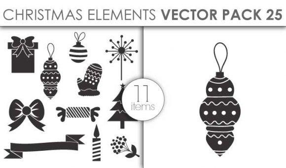 Vector Christmas Pack 25for Vinyl Cutter Vector packs vector