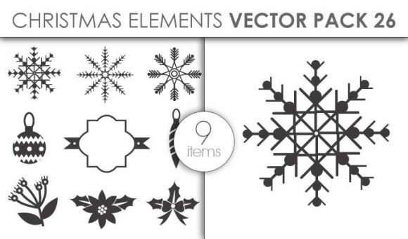 Vector Christmas Pack 26for Vinyl Cutter Vector packs vector