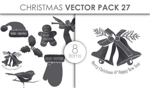 Vector Christmas Pack 27for Vinyl Cutter Vector packs vector