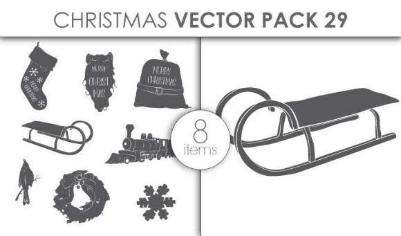 Vector Christmas Pack 29for Vinyl Cutter Vector packs vector