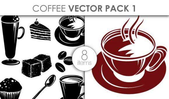 Free Vector Coffee Pack Freebies vector