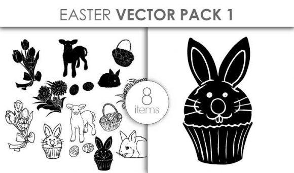Vector Easter Pack 1 Vector packs vector