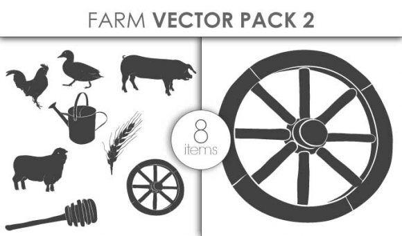 Vector Farm Pack 2for Vinyl Cutter Vector packs vector