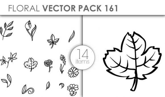 Vector Floral Pack 161for Vinyl Cutter Vector packs vector