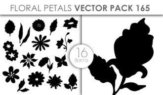 Vector Floral Petals Pack 165 Vector packs vector