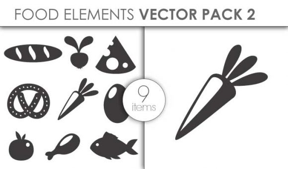 Vector Food Pack 3for Vinyl Cutter Vector packs vector