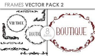 Vector Frames Pack 2 Vector packs vector