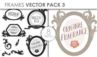 Vector Frames Pack 3 Vector packs vector