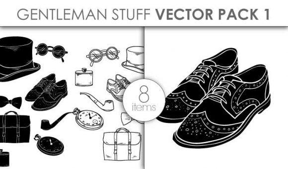Vector Gentleman Stuff Pack 1 Vector packs vector