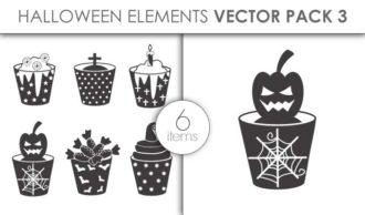 Vector Halloween Pack 3 Vector packs vector