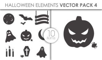 Vector Halloween Pack 4 Vector packs vector