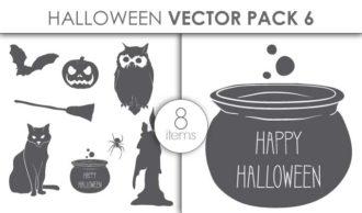 Vector Halloween Pack 6 Vector packs vector