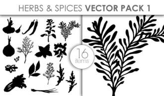 Vector Herbs And Spices Pack 1 Vector packs vector