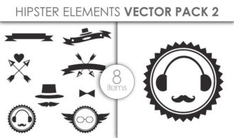 Vector Hipster Pack 2 Vector packs vector