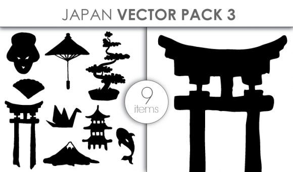 Vector Japan Pack 3 Vector packs vector