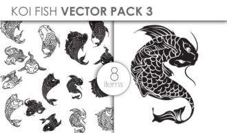 Vector Koi Pack 3 Vector packs vector