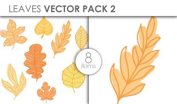 Vector Leaves Pack 2 Vector packs vector