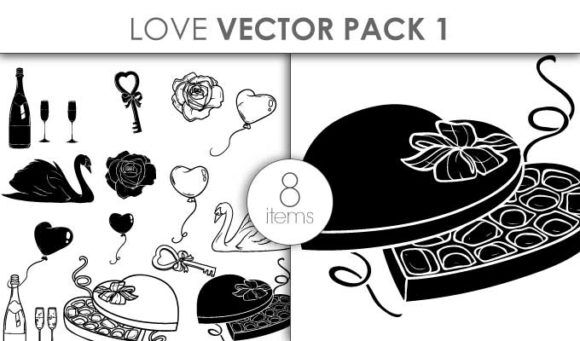 Vector Love Set Pack 1 Vector packs vector