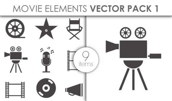 Vector Movie Pack 3 Vector packs vector