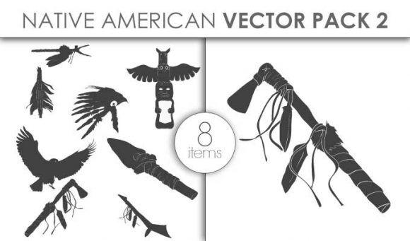 Vector Native American Pack 2 Vector packs vector