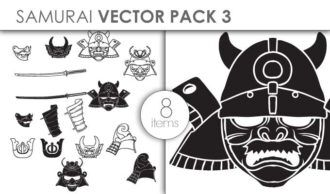 Vector Samurai Pack 3 Vector packs vector
