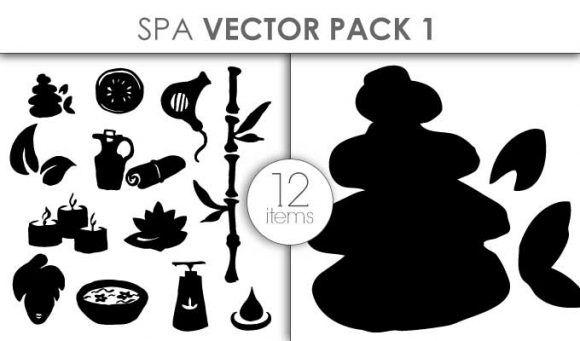 Vector Spa Pack Pack 1 Vector packs vector