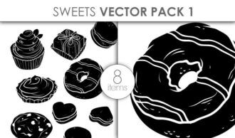 Vector Sweets Pack 1 Vector packs vector