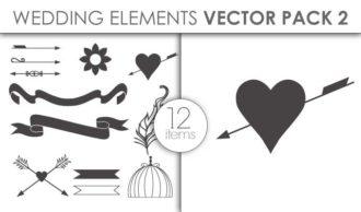 Vector Wedding Pack 2 Vector packs vector