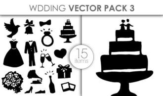 Vector Wedding Pack 3 Vector packs vector