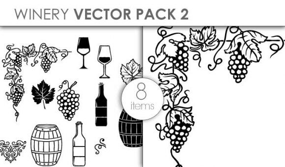 Vector Winery Pack 2 Vector packs vector