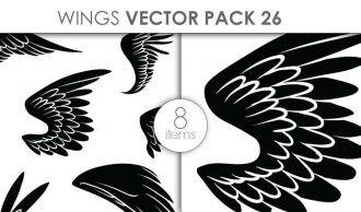 Vector Wings Pack 1 Vector packs vector